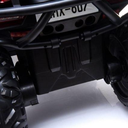 Электроквадроцикл XMX607 Т007МР 4WD камуфляж (полный привод, колеса резина, кресло кожа, музыка)